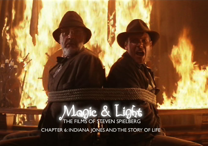 video essay  magic and light  the films of steven spielberg    video essay  magic and light  the films of steven spielberg   chapter   indiana jones and the story of life