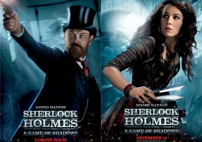 Watch: New Clips From 'Sherlock Holmes: A Game of Shadows ...