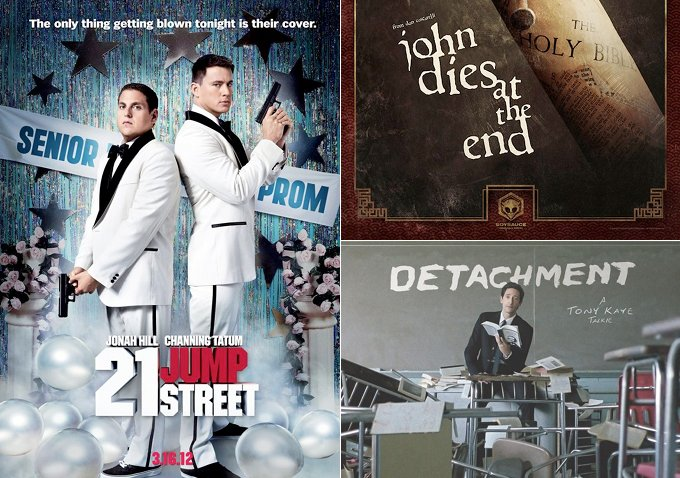 Poster round up 21 jump street the bourne legacy john dies at the end detachment - 21 jump street box office ...