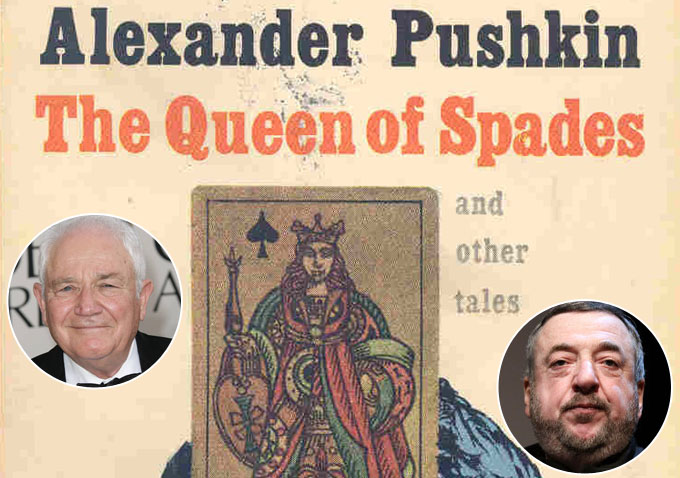 queen of spades pushkin essay The story 'the queen of spades' by alexander pushkin, and the movie 'the shining,' directed by stanley kubrick belong to the when the story unfolds the.