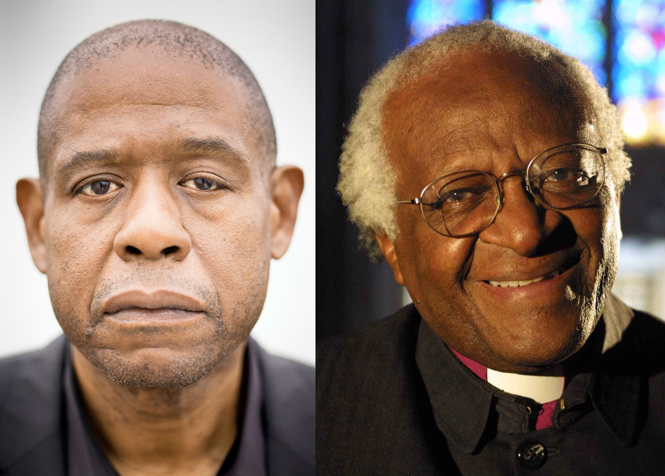 Forest whitaker to play desmond tutu in the archbishop for The whitaker