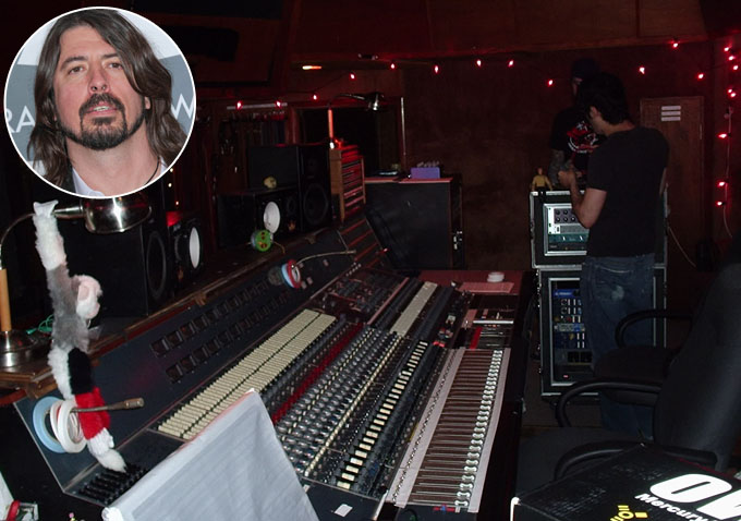 Dave Grohl Producing & Directing Doc About Sound City ...