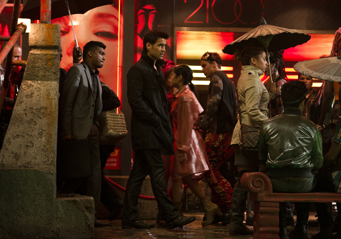 New Images From 'Total Recall' Starring Colin Farrell ...
