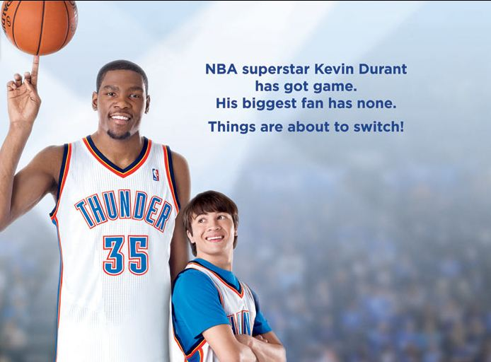 966d02bb0aae Kevin Durant Takes To The Screen In Trailer For Magical Family Drama   Thunderstruck