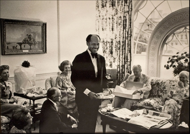 The film is scripted to cover several decades in the life of Eugene Allen, the White House butler who served many presidents; So, based on the outfits and ...