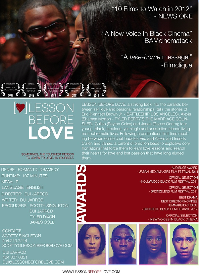 Indie Drama 'Lesson Before Love' (Lives Of Young
