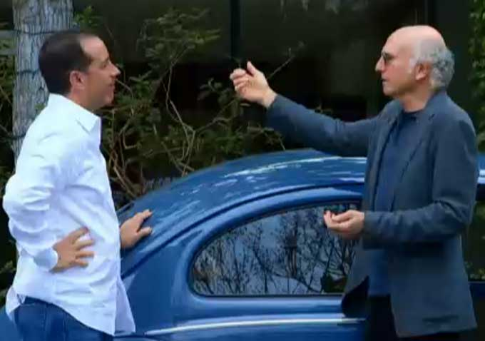 watch larry david and jerry seinfeld waste time charmingly in comedians in cars getting. Black Bedroom Furniture Sets. Home Design Ideas