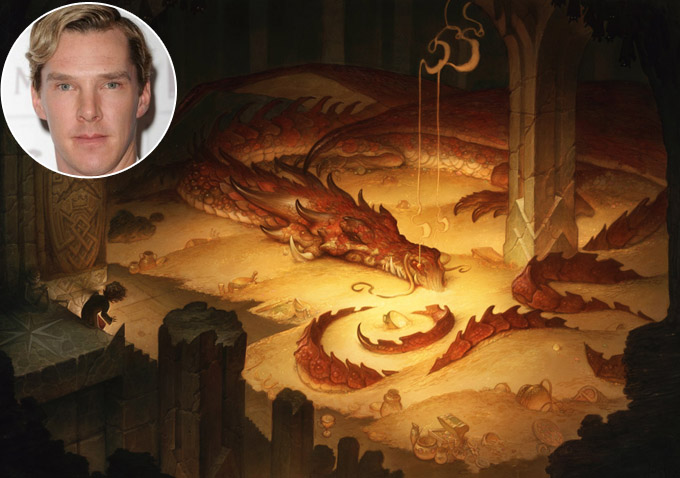 Benedict Cumberbatch Says You'll Only See Smaug's Eye In ...