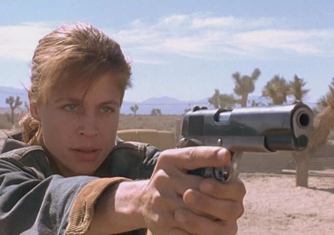 Linda Hamilton's Return to 'Terminator' Will Give Us the 60-Year-Old Female Action Star We Deserve