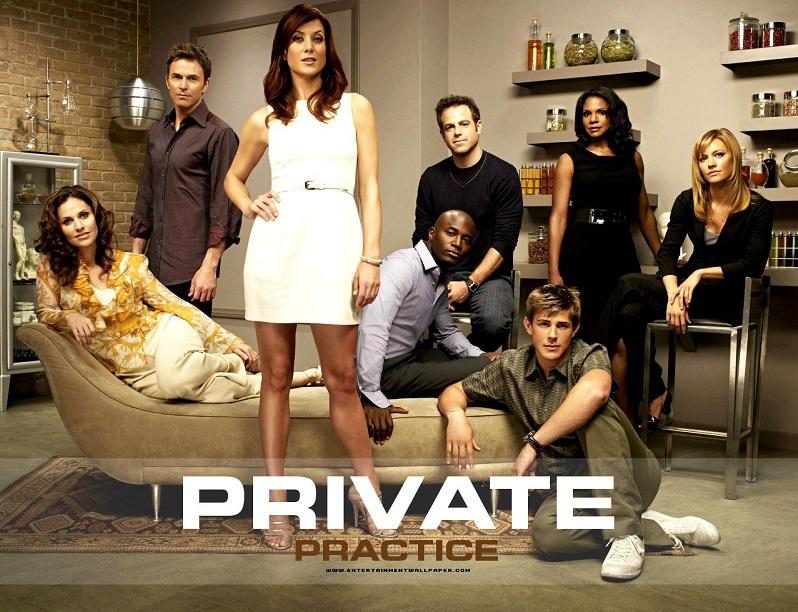 Resultado de imagem para shonda rhimes series private practice