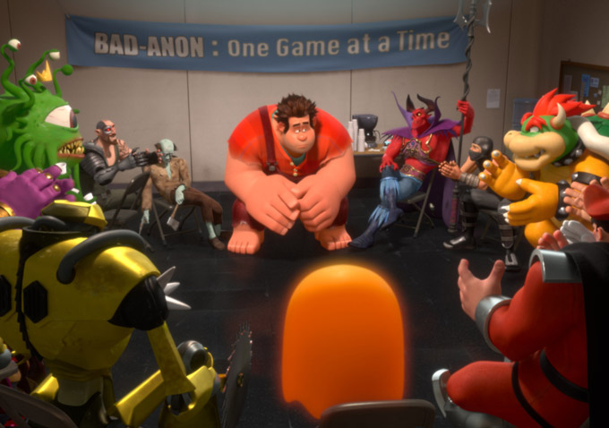 f2d23127324  Wreck-It-Ralph  Soundtrack Features Songs by Skrillex