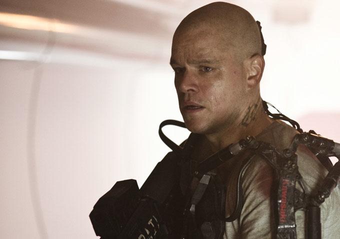 New Look At Matt Damon...