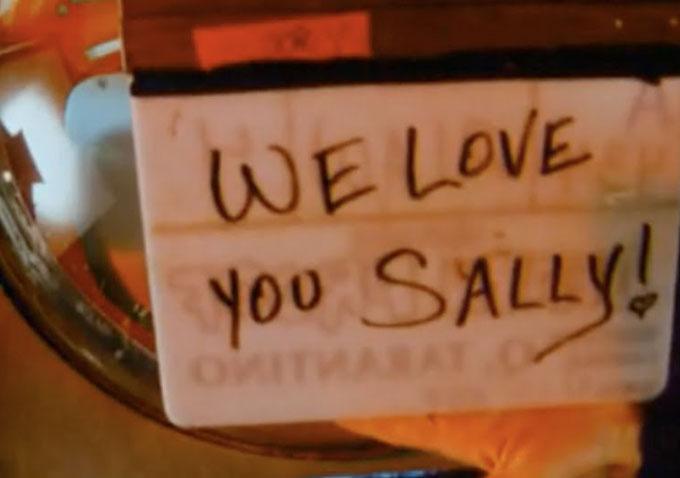 sally menke tarantino reaction