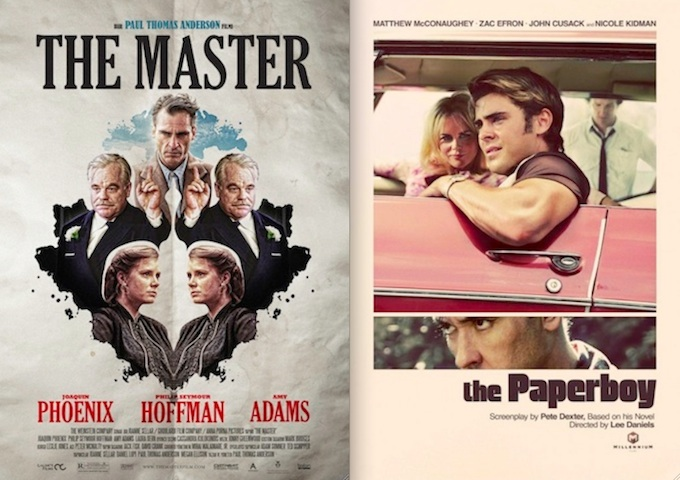 Best Movie Posters of 2012: Retro, Sexy, Design-y, Scary, Striking and Stylish