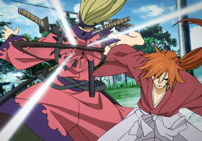 in �the new kyoto arc� rurouni kenshin grapples with