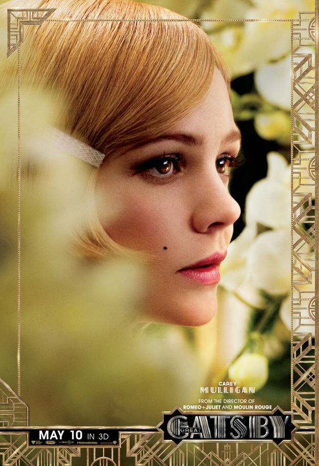 6 New Character Posters For 'The Great Gatsby' Get Close-Up