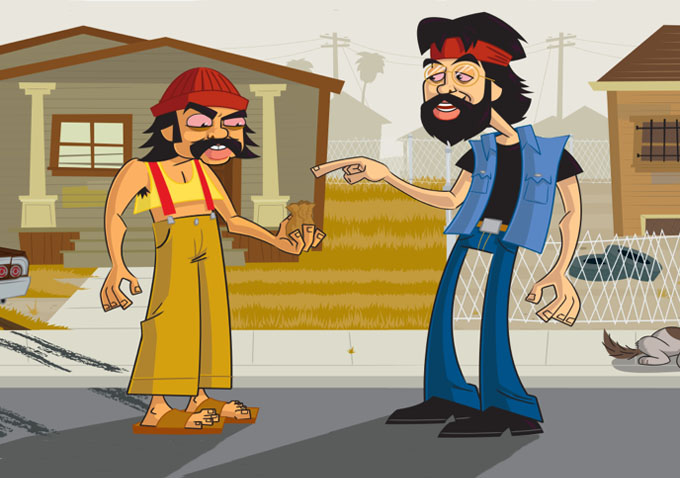 Cheech & Chongs Animated Movie - Interview - YouTube
