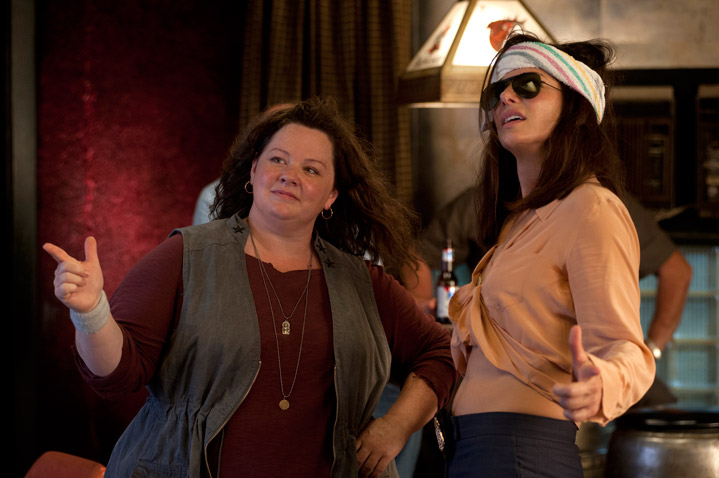 Watch: Sandra Bullock & Melissa McCarthy Turn Up 'The Heat' In First