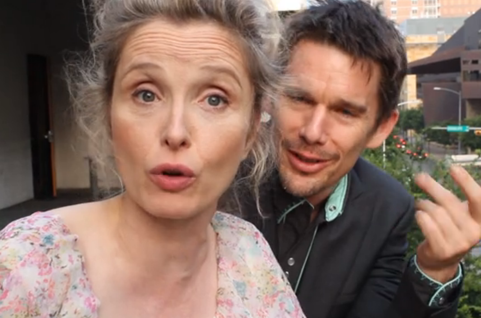 Julie Delpy 2 day in paris