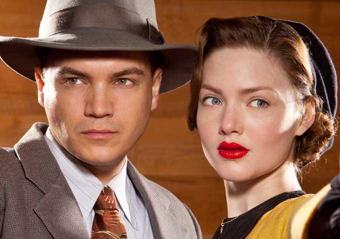 Get a First Look at Holliday Grainger and Emile Hirsch as ...