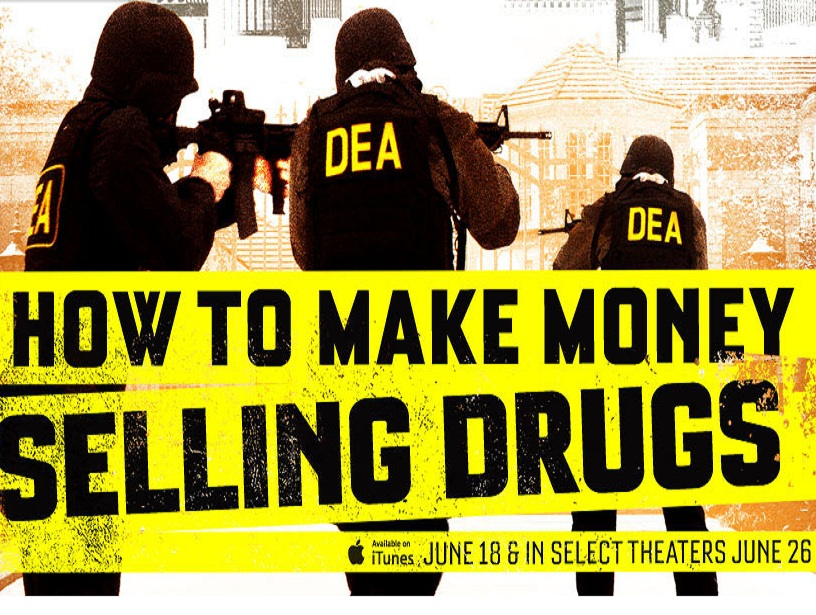 How to make money selling drugs gets trailer poster for How to make and sell