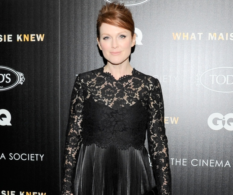 Julianne Moore On Playing A Troubled Rock Star In What