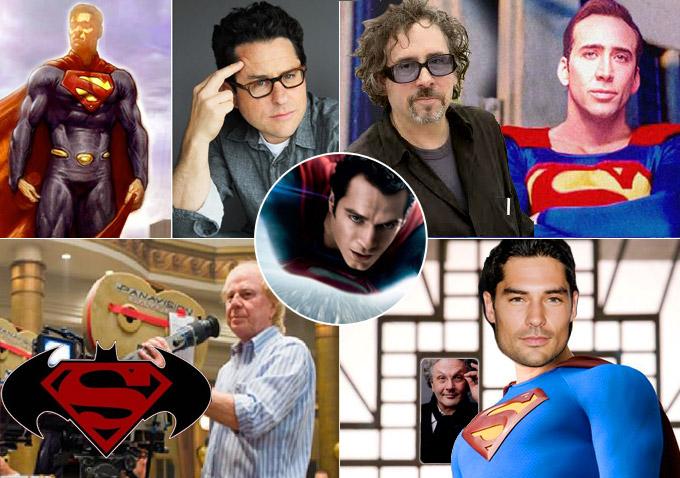 4 'Superman' Movies That Never Took Flight