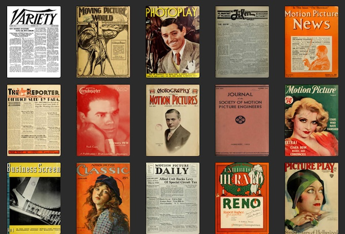 Film History Nerds Rejoice! Old Film Journals and Mags Now Searchable for Everyone