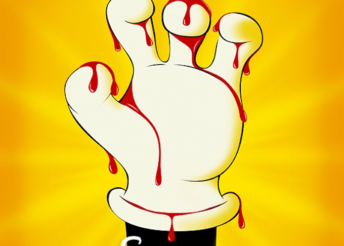 Mickey Mouse Has Blood On His Hands in New Poster for 'Escape From Tomorrow'