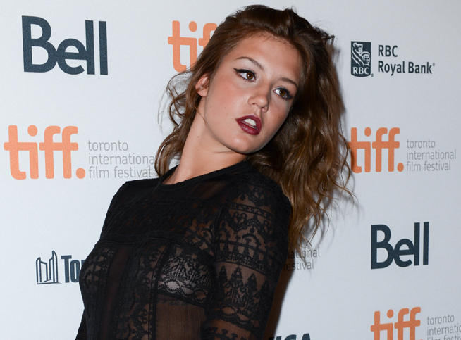 Sex adèle exarchopoulos Free Adele