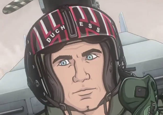 Watch: The 'Archer' Characters Enact the 'Top Gun' 'Danger Zone' Music Video