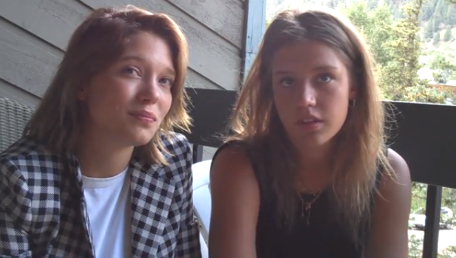 cannes winning stars of blue is the warmest color talk controversy kechiche its a blind trust exclusive video indiewire - Blue Is The Warmest Color Book