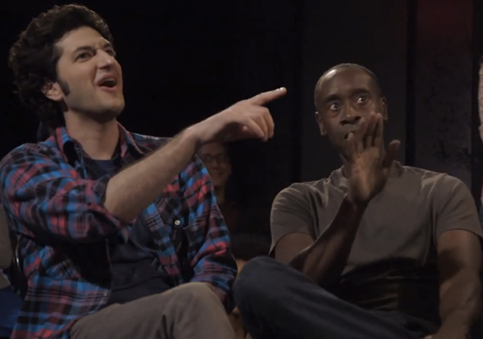 U201cHouse Of Liesu201d Cast Members Ben Schwartz And Josh Lawson Are Veterans Of  The Los Angeles Improv Scene U2014 Co Stars Don Cheadle And Kristen Bell, Not  So Much.