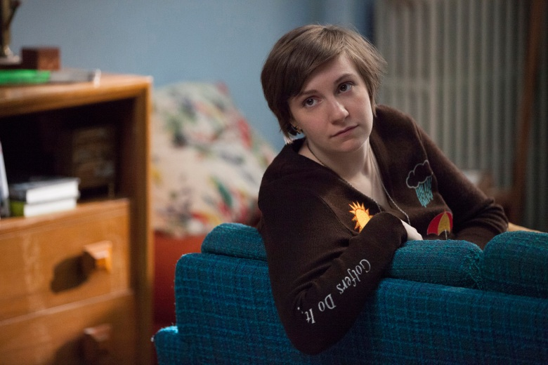 Naked girls talking on couch Why Is Lena Dunham Naked So Much And Other Questions About Girls Indiewire