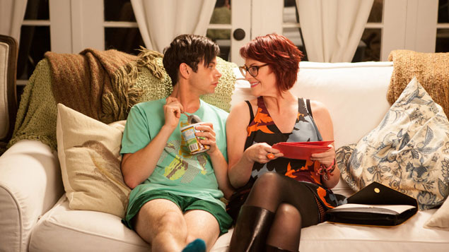 Exclusive: Megan Mullally and Paul Iacono Have Mother-Son