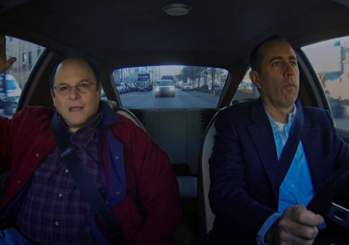 Commedians In Cars: Watch: Jason Alexander And Jerry Seinfeld Do A 'Comedians