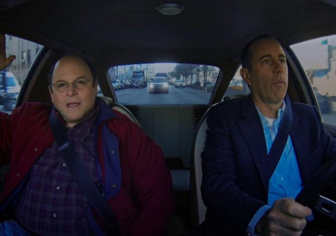 Watch: Jason Alexander And Jerry Seinfeld Do A 'Comedians