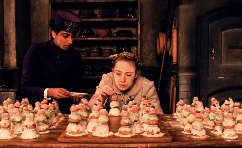 "a pastry covered hammer wes anderson s ""grand budapest hotel  in his book ""the wes anderson collection "" matt zoller seitz talks about anderson s use of what he calls ""material synecdoche "" which he defined in a 2009"