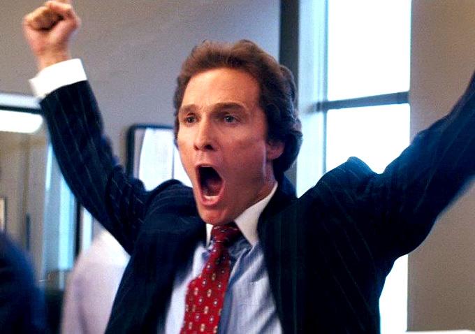 Matthew McConaughey 'Wall Street' Chest Bump Gets Remixed ...