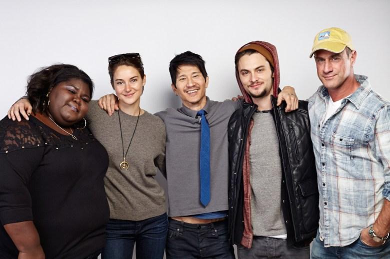 Gabourey Sidibe, Shailene Woodley, director Gregg Araki, Shiloh Fernandez, Christopher Meloni