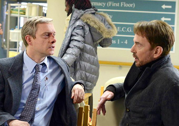 Fargo' Stars Billy Bob Thornton and Martin Freeman Discuss