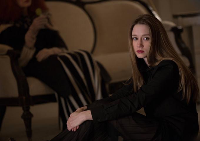 American Horror Story Season 3 Filming Taissa Farmiga On Step...