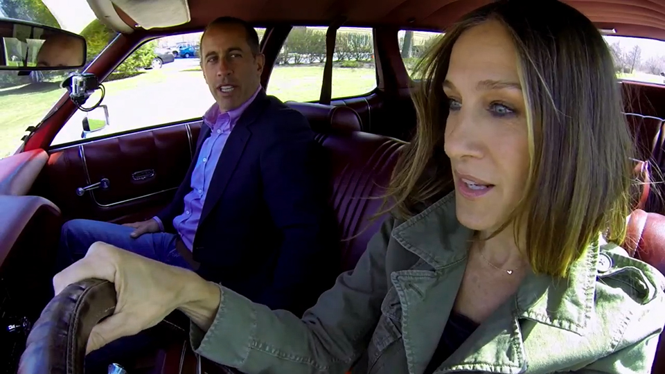 jerry seinfeld s comedians in cars getting coffee season four premieres today indiewire. Black Bedroom Furniture Sets. Home Design Ideas