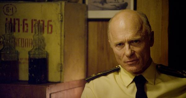 "watch ed harris is a pissed off sheriff in first trailer for fx s acclaimed ""the bridge"" already takes a look at those affected by the u s border and now ""frontera "" an upcoming drama film starring ed harris"