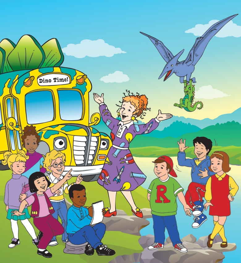 netflix and scholastic team up to reboot the magic school bus