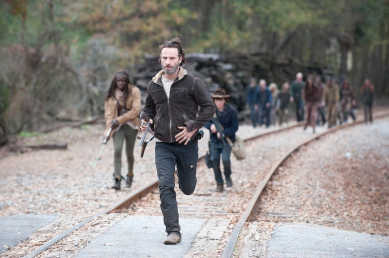 Rick Walking Dead Season 5