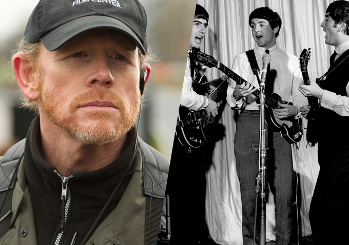 Image result for Ron Howard follows the Beatles on tour