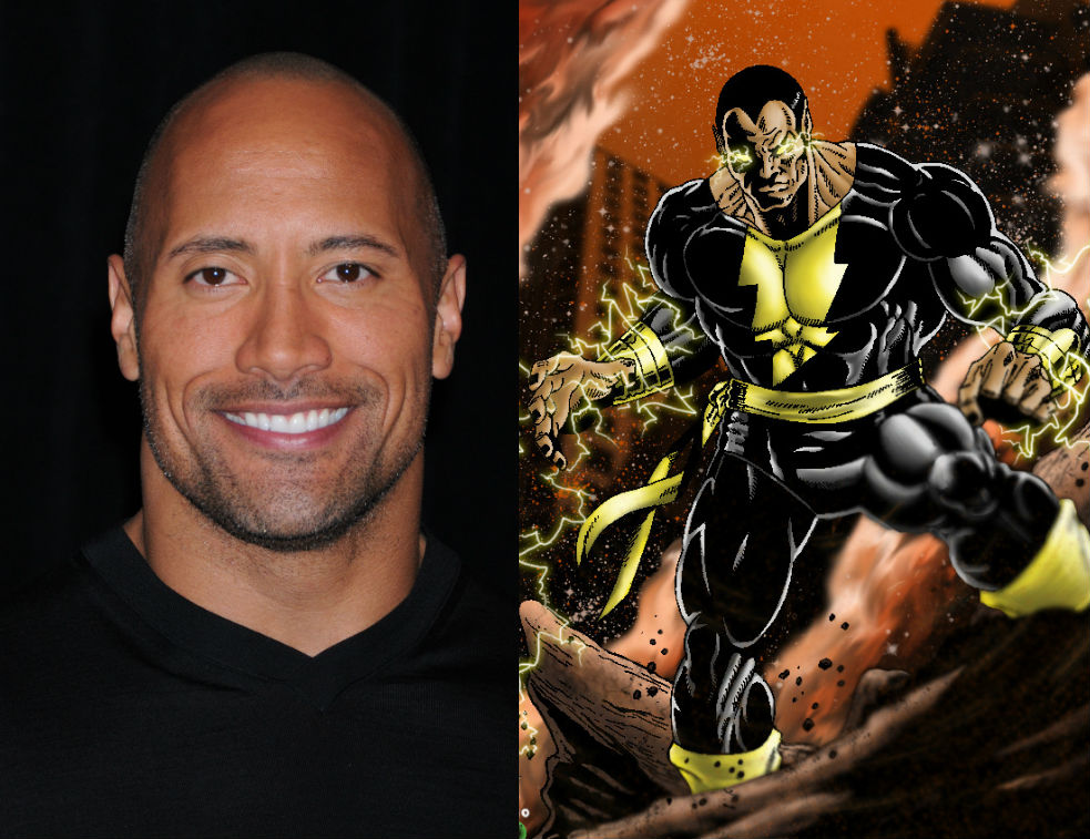 Image result for Dwayne Johnson versus Marvel