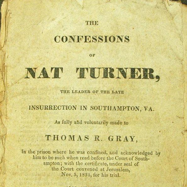 confessions of nat turner essay