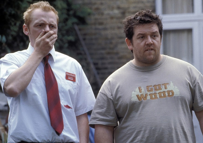 nick frost gif